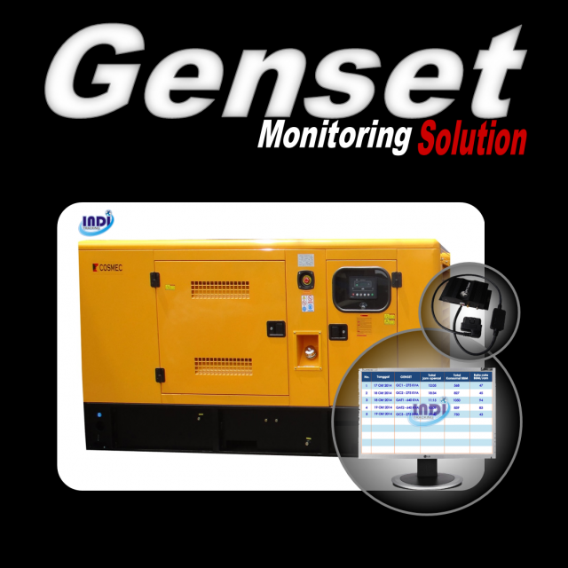 Sistem Pemantauan Genset  Real Time